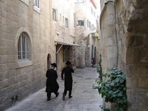 iPhones en oerkrachten: ik ben in Jeruzalem